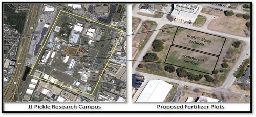 Satellite views of the JJ Pickle Research Campus