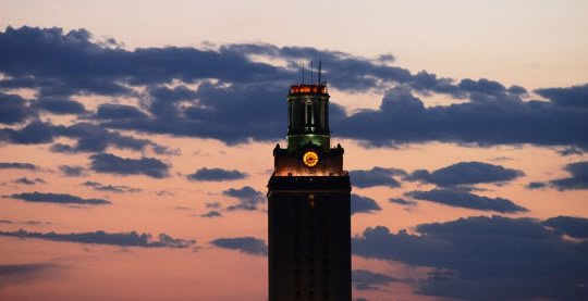 Dark UT Tower