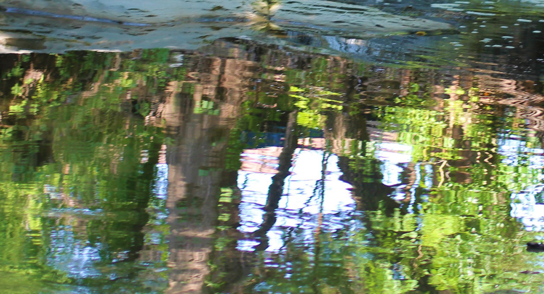 Waller Creek reflects
