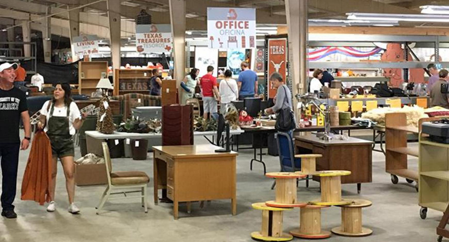 UT Austin's Surplus Store at PRC