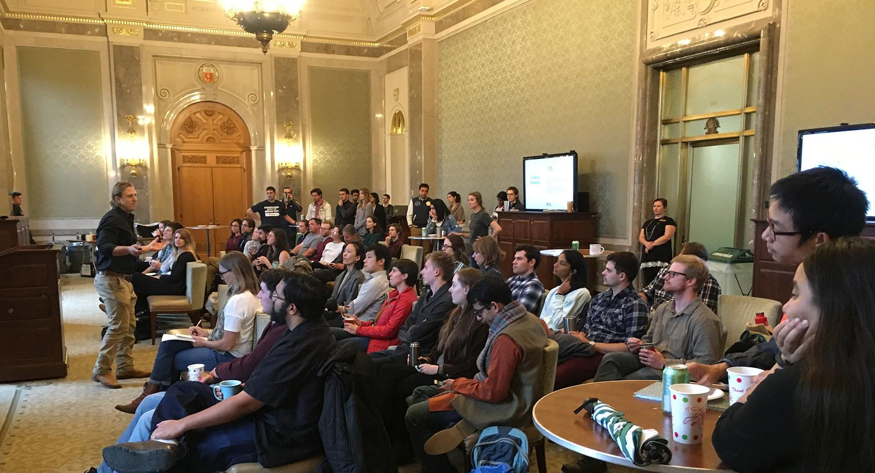 Sustainability on Tap Fall 2018