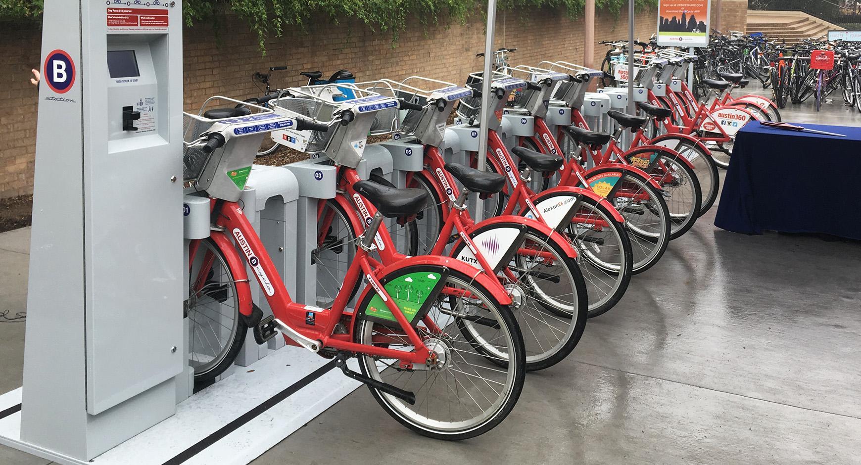 Bike sharing on campus