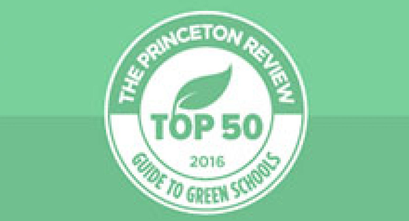 UT Austin Featured in The Princeton Review's Top Green Colleges
