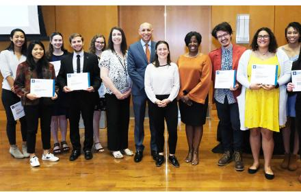 Sustainability Student Empolyees of the Year 2018-19