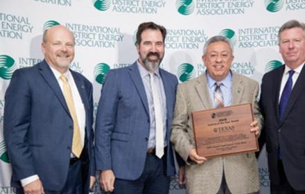 IDEA award to UT Energy District