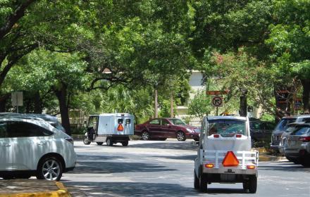 Electric carts, UT Austin