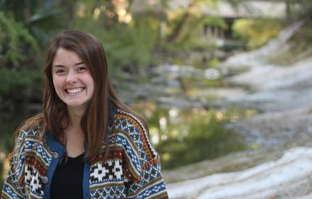 Lauren McKinney by Waller Creek