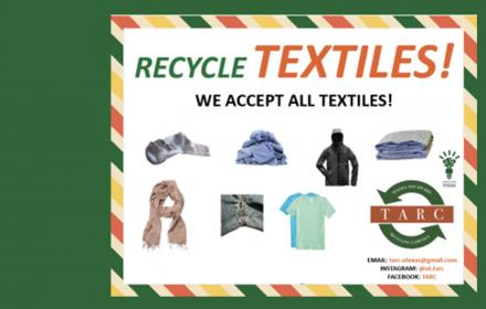 Recycling fabric at UT