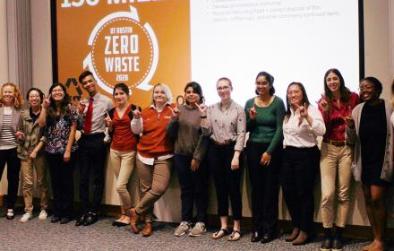 Resource Recovery interns at UT Austin
