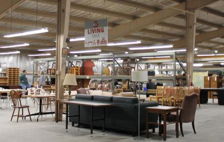 UT Austin's Reuse Store