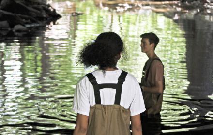Summer research in Waller Creek
