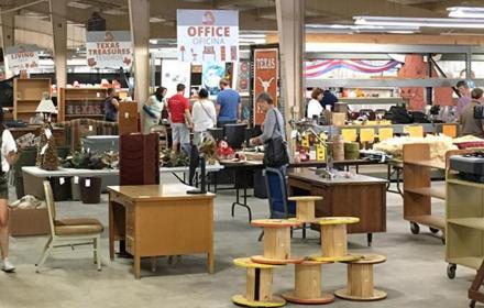 UT Austin's Surplus Store at PRC