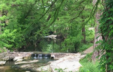Waller Creek from 24th St