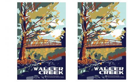 Waller Creek poster from EHS