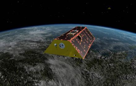 GRACE satellite illustration by NASA/JPL_CalTech