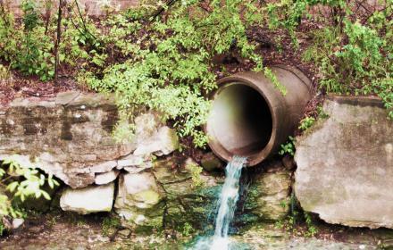 Culvert on Waller Creek