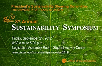 3rd Annual Sustainability Symposium